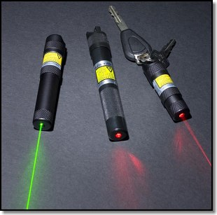Three Rescue Lasers