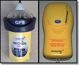 Upgraded McMurdo GPS Beacons
