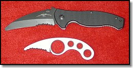 Emerson SARK and White Water Rescue Knife