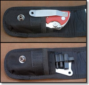 Gerber Hinderer Rescue in Sheath w/ Tool Kit