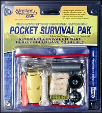 Pocket Survival Pak designed by Doug Ritter