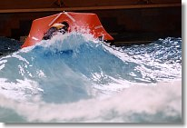 Wave Action at the Life Raft Tests
