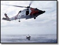 USCG Helicopter Rescue