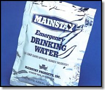 Mainstay Water Ration Packet