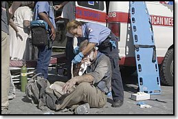 Medical assistance at WTC